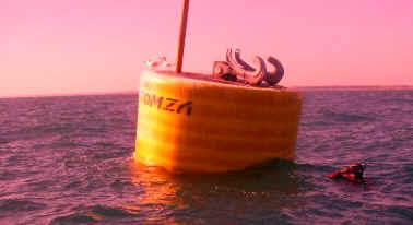 mooring buoy Release Hooks